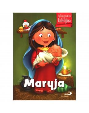 Kolorowanka biblijna - Maryja