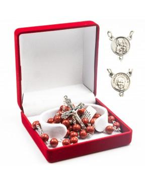 Różaniec 8 mm w pudełku -...