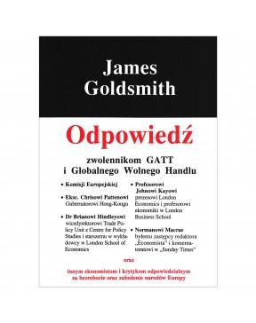 James Goldsmith - Odpowiedź