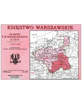 Księstwo Warszawskie - mapa