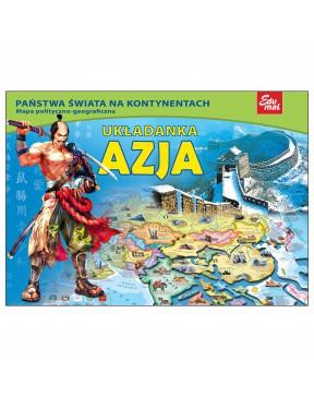 Układanka Azja Puzzle
