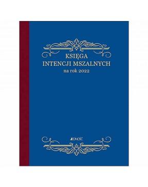 Księga intencji mszalnych...