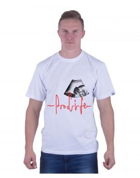 Koszulka męska Prolife biała