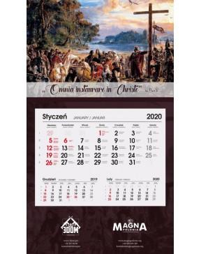 Tradycyjny Kalendarz 2020 -...