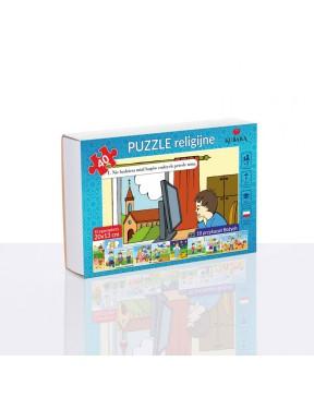 Puzzle - 10 Przykazań - 10 szt