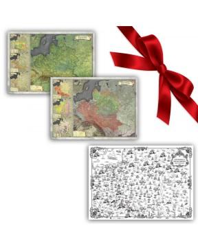 Zestaw Map A1 - I i II...