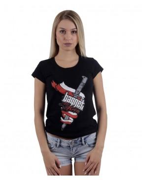 Koszulka damska Bagnet na broń
