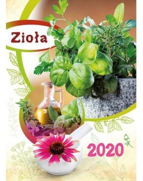 Kalendarz ścienny Zioła 2020