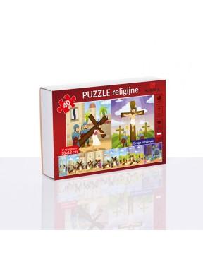Puzzle religijne Droga...