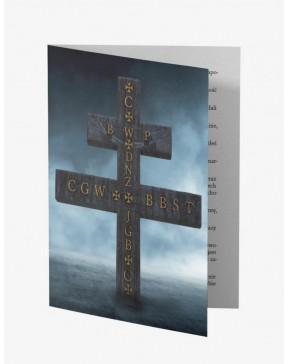 Krzyż ochronny z modlitwą...