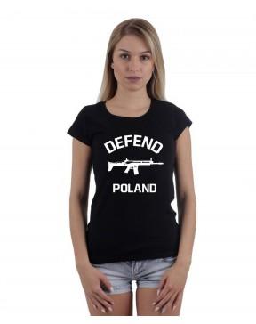 Koszulka damska Defend Poland