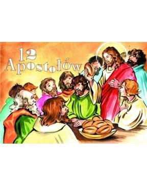 12 apostołów - malowanka...