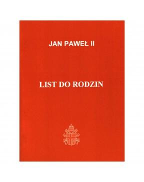 Jan Paweł II - List do rodzin